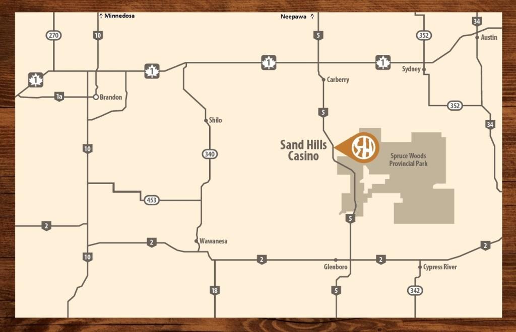 SHC Map Brochure